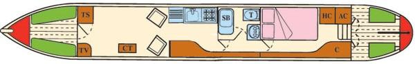 Daisy - a 2 Berth Narrow Boat