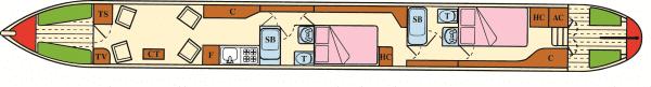 Clover - a 4 Berth Narrow Boat