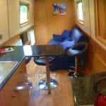 Athena canal boat - a 4 Person Canal Boat