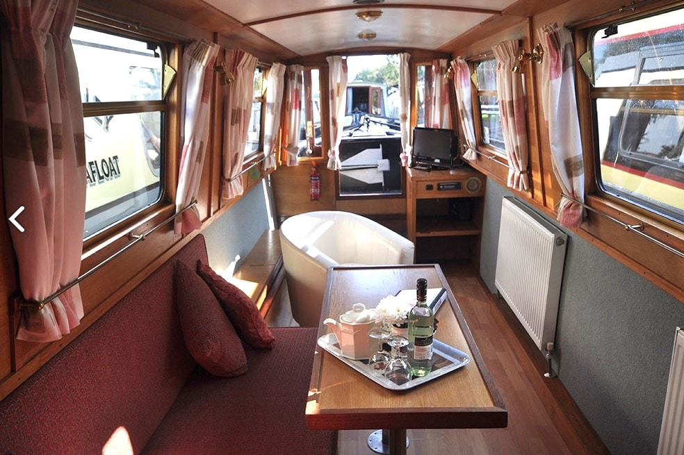 The Cherwell - a 4 Person Canal Boat