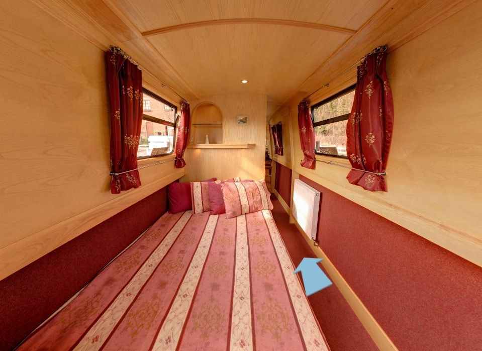 The Hope - a 4 Person Canal Boat