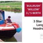 Willow - a 5 Berth Narrow Boat
