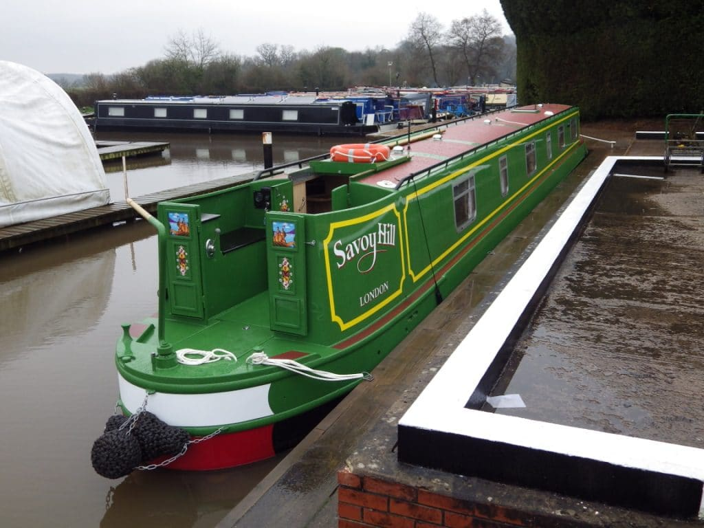 The Savoy Hill - a 7 Person Canal Boat
