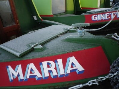 Maria - a Canal Boat