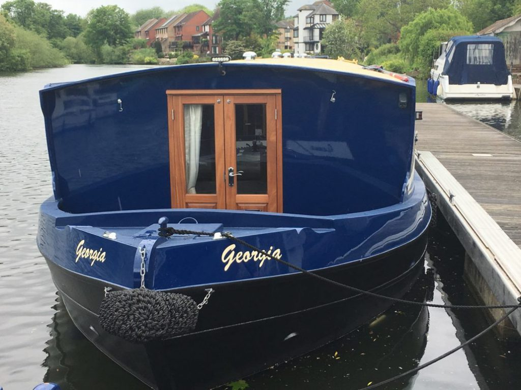 Georgia - a Wide Canal Boat