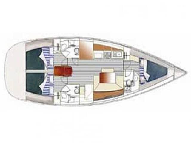 Arkina - a Beneteau Cyclades 43.3