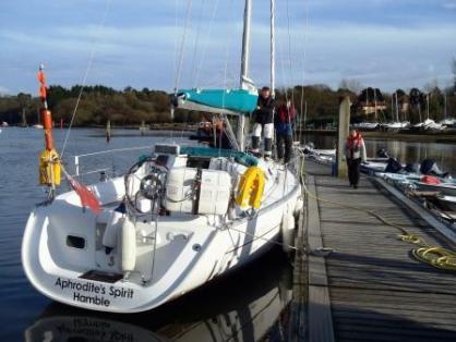 Aphrodite Spirit - a Beneteau Oceanis 323