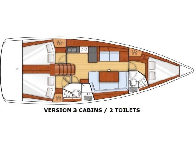 Arsen - a Beneteau Oceanis 38