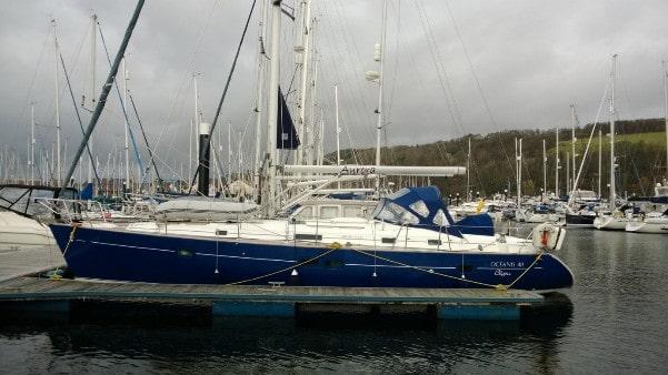 Aurora - a Beneteau Oceanis 411