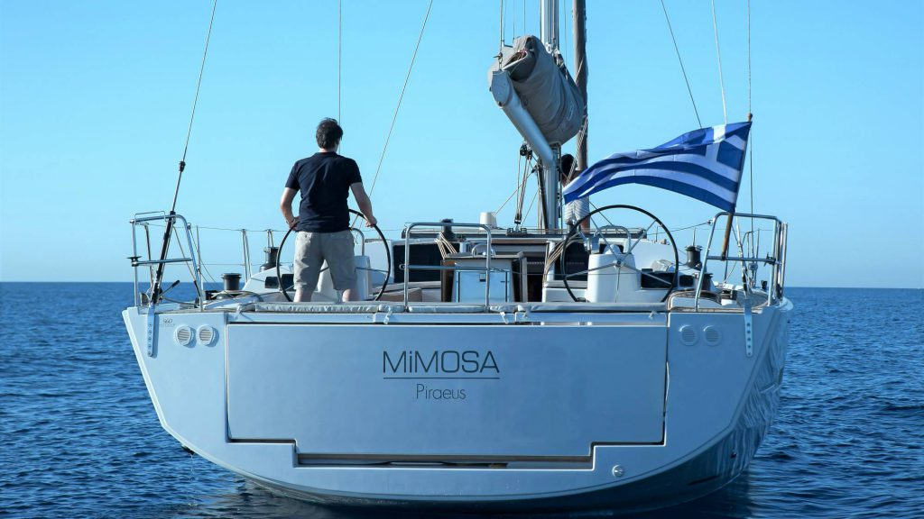 Mimosa - a Dufour 56
