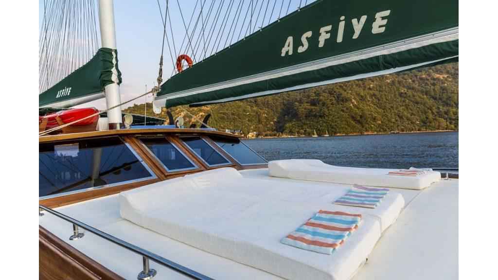 Asfiye - a Gulet