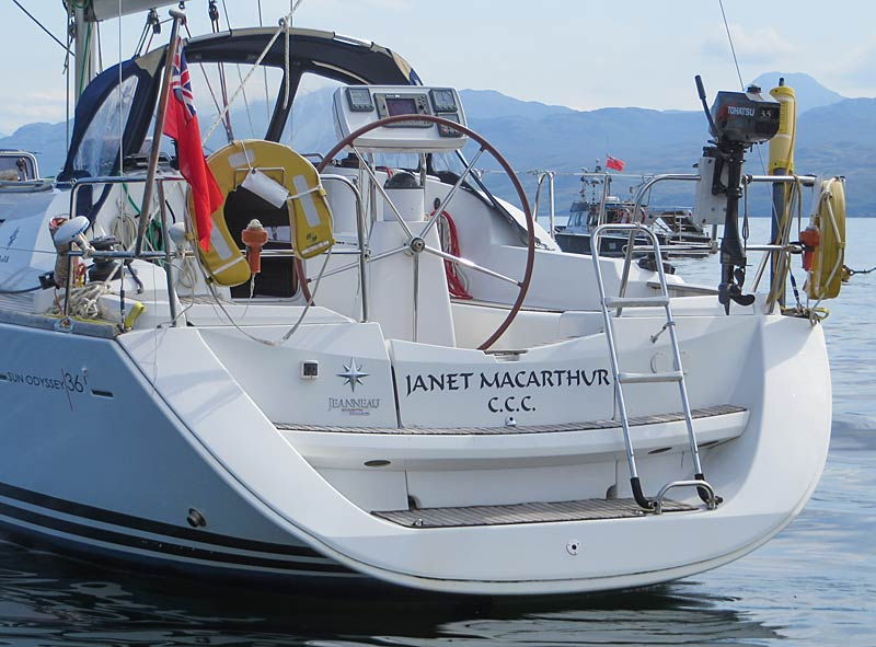 Janet Macarthur - a Jeanneau Sun Odyssey 36i