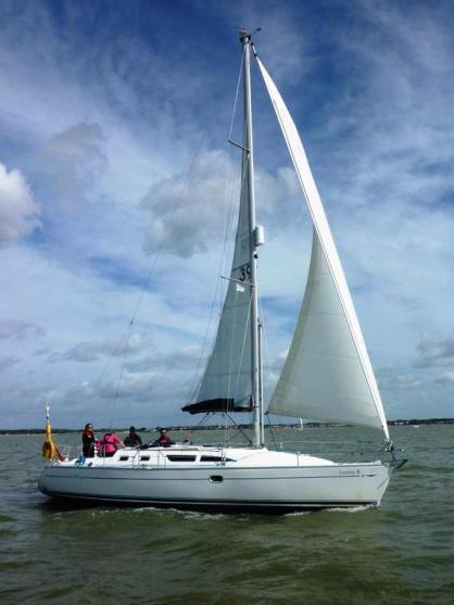 Loxley B - a Jeanneau Sun Odyssey 37