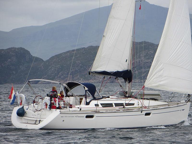 Ab Fab - a Jeanneau Sun Odyssey 42i