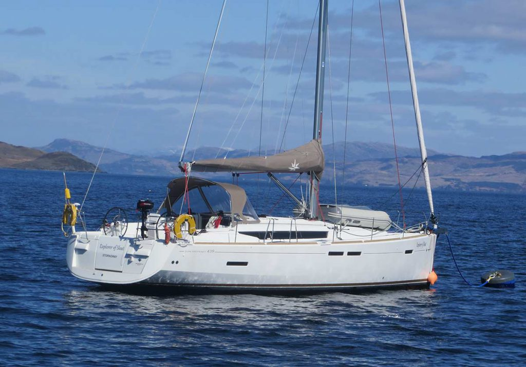 Sleat Odyssey - a Jeanneau Sun Odyssey 493