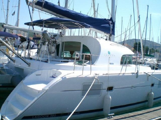 Allegro - a Lagoon 380 S2 Catamaran