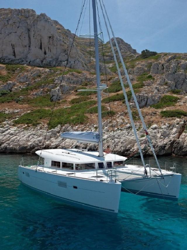 Angelina II - a Lagoon 400 S2 Catamaran