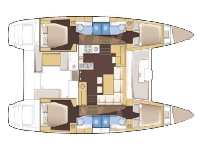 Ariel - a Lagoon 450 Catamaran