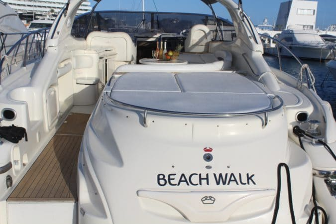 Beachwalk - a Cranchi 50