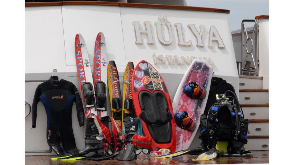 Hulya - a Custom Built
