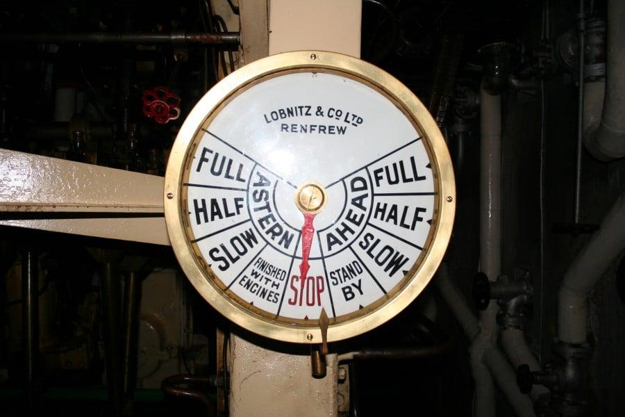 Shieldhall - a Steamship