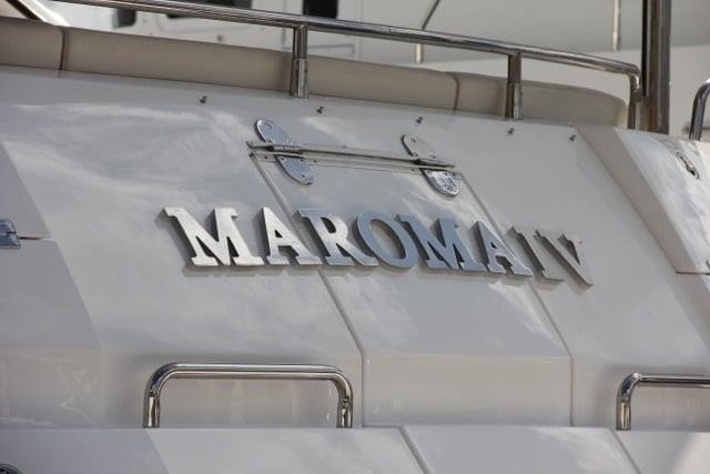 Maroma IV - a Sunseeker