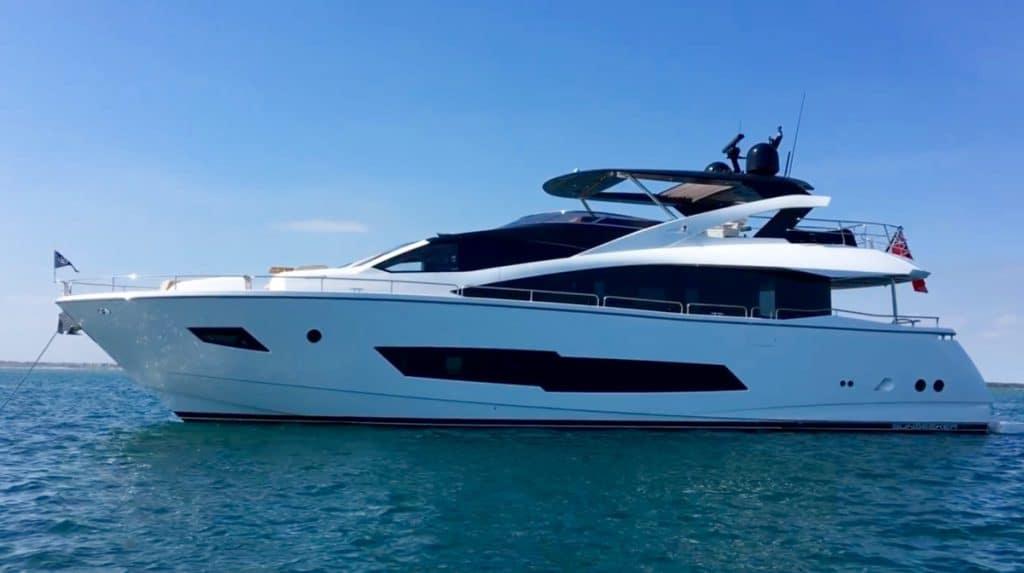 Hard 8 - a Sunseeker Yacht 86