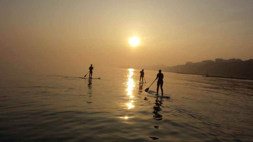 Bournemouth Paddleboards - a Paddleboard