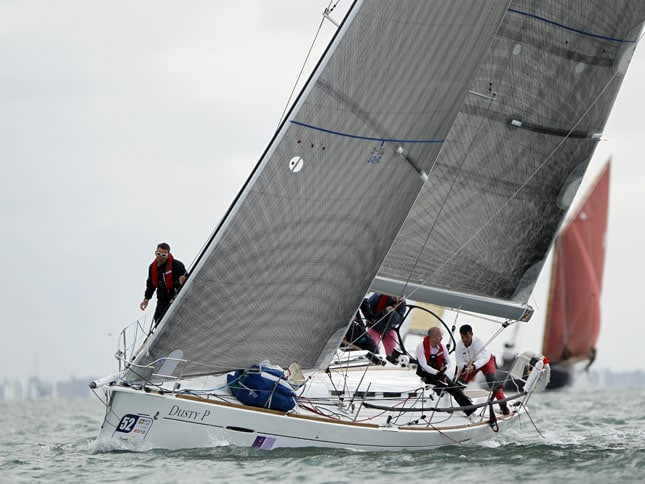 Dusty P - a Beneteau First 40