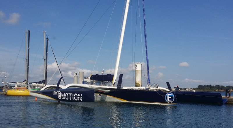 Ultim Emotion - a Chantier Navale de Larros ORMA 60 Trimaran