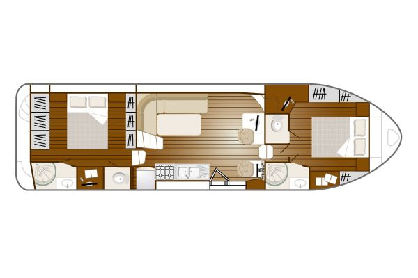 Confort 1350 VIP - a Custom Built River Cruiser