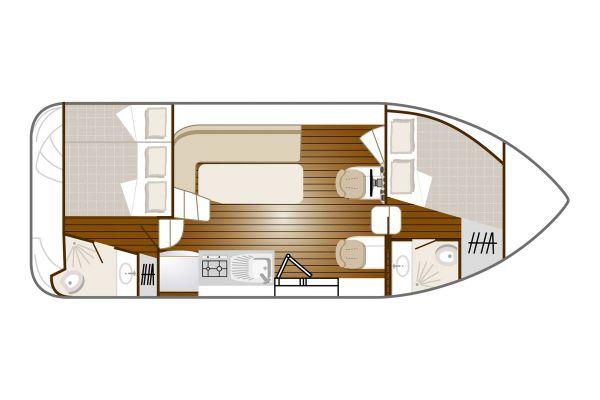 Confort 900 DP - a Custom Built River Cruiser