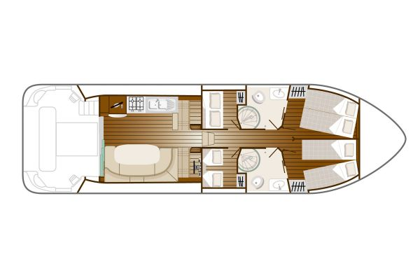 Estivale Octo - a Custom Built River Cruiser