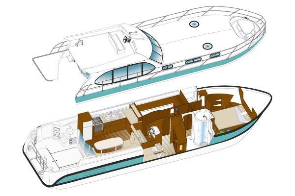 Estivale Sixto - a Custom Built River Cruiser