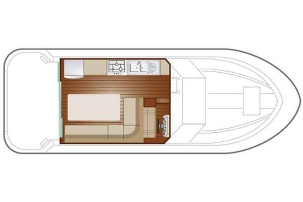Sedan 1000 - a Custom Built River Cruiser