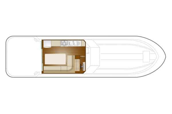 Sedan 1310 - a Custom Built River Cruiser