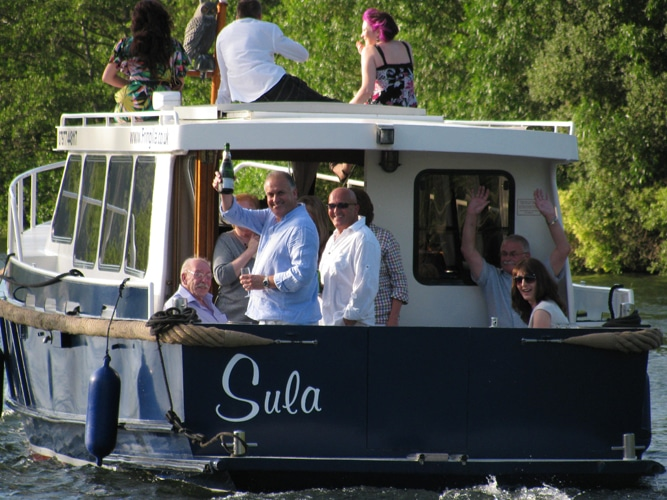 Sula - a Dutch River Cruiser
