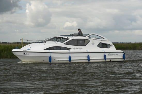 Superior Light - a River Cruiser